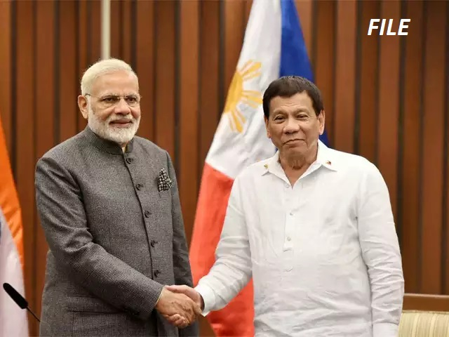 Telephone conversation between Prime Minister and President of Philippines