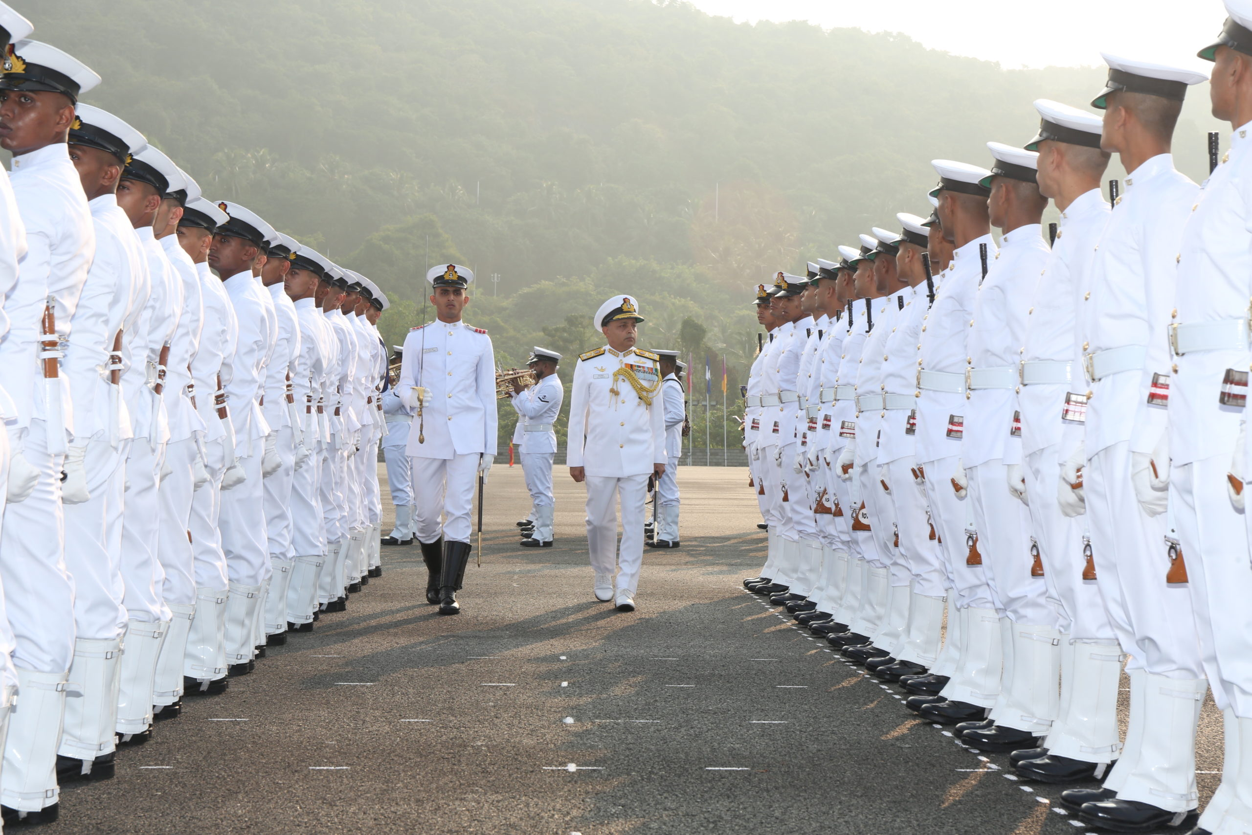 Vice Admiral Anil Kumar Chawla, PVSM, AVSM, NM, VSM, ADC, Flag Officer Commanding-in-Chief, Southern Naval Command, will be the Chief Guest for the Course Completion Ceremony.