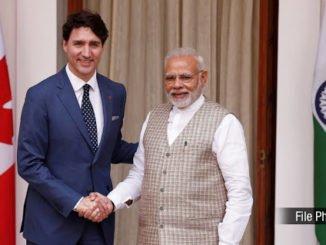 Phone call between Prime Minister Shri Narendra Modi and H.E. Justin Trudeau, Prime Minister of Canada
