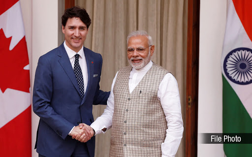 Phone call between Prime Minister Shri Narendra Modi and H.E. Justin Trudeau, Prime Minister of Canada