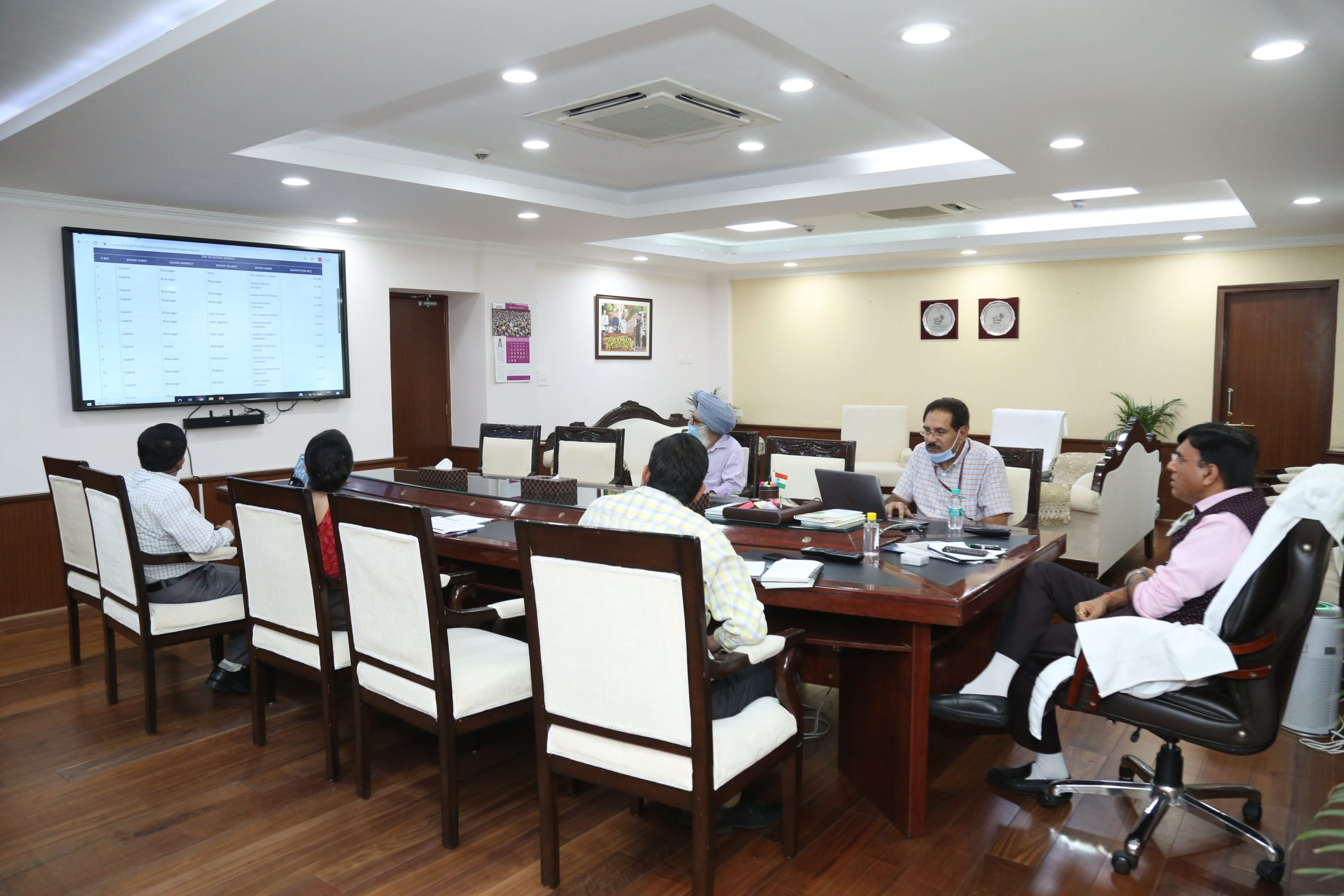 Shri Mandaviya Reviews Revival progress of 5 Fertilizers Plants