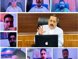 "Dr Jitendra Singh said, the need of the hour is to follow the Mantra of ""awareness not anxiety"". For this, the elected representatives of Municipal bodies, who are the grassroots leaders can play a convincing role by making the people understand the importance of exercising precautions without panic. Dr Jitendra Singh said, what we need to make people understand is that even though the number of Corona positive cases is high, this is to a great extent because of mass screening and more number of samples being send. Otherwise, the percentage prevalence and death rate have remained almost same over the last ten weeks, he said. In the current phase of COVID pandemic, Dr Jitendra Singh said, Municipal activities like fumigation, maintenance of cleanliness and hygiene, social distancing, etc will be of significant importance and added that the district administration has been directed to keep the Municipal bodies on board in planning and execution. The heads of the Municipal bodies appreciated the regular contact with them maintained by Dr Jitendra Singh and his office on day-to-day basis. They brought to the notice of the Minister that the release of funds to the local bodies had got delayed. Dr Jitendra Singh appreciated the role played by the Municipal bodies and civil society during the Corona crisis and assured them that he is personally following up for closer coordination amongst all."