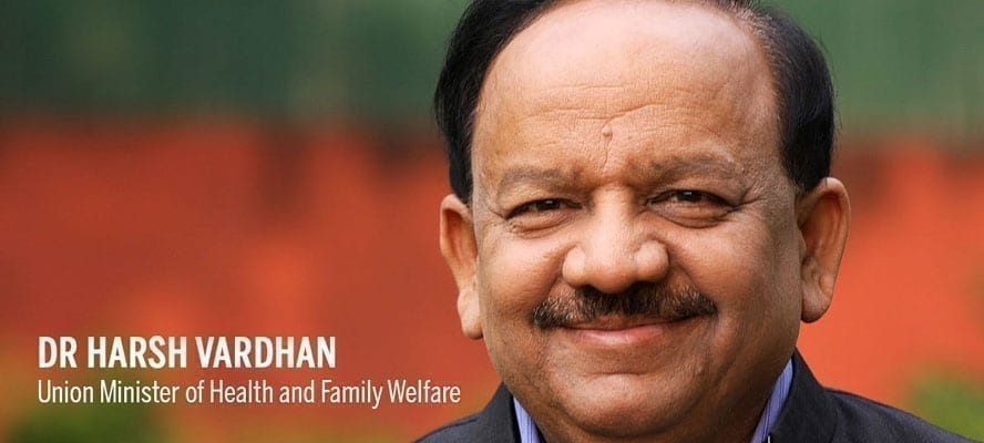 Dr. Harsh Vardhan Visits Sardar Patel COVID Care Centre & Hospital at Chhattarpur
