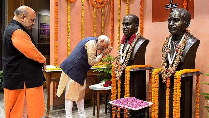 PM pays tributes to Dr. Syama Prasad Mukherjee on his Punya Tithi