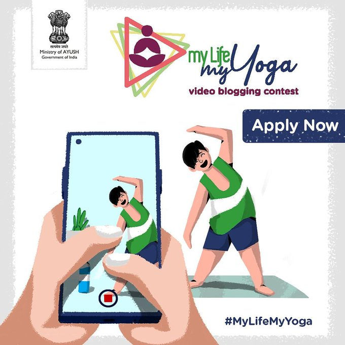 """""""My Life – My Yoga"""" video blogging contest to be global"""