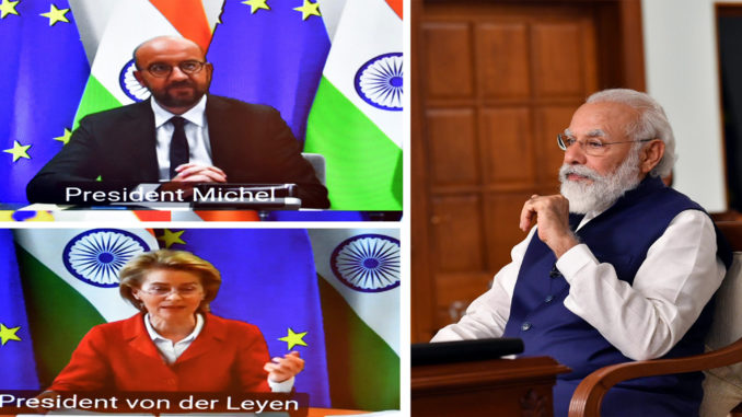 15th India-EU (Virtual) Summit: English rendering of Opening Remarks by Prime Minister Sh. Narendra Modi