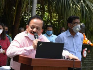 Every single donor counts in our journey towards victory over COVID-19 and we need more and more of these CORONA WARRIORS: Dr. Harsh Vardhan