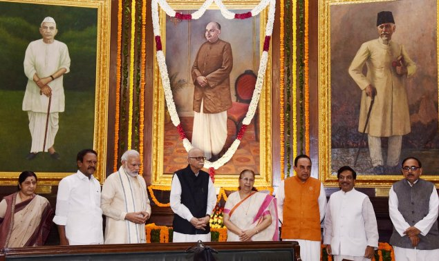 PM pays tributes to Dr. Syama Prasad Mookerjee on his Jayanti