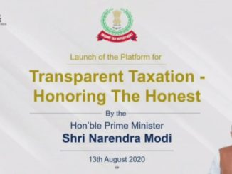 "Prime Minister Narendra Modi launches platform for ""Transparent Taxation - Honouring the Honest"""
