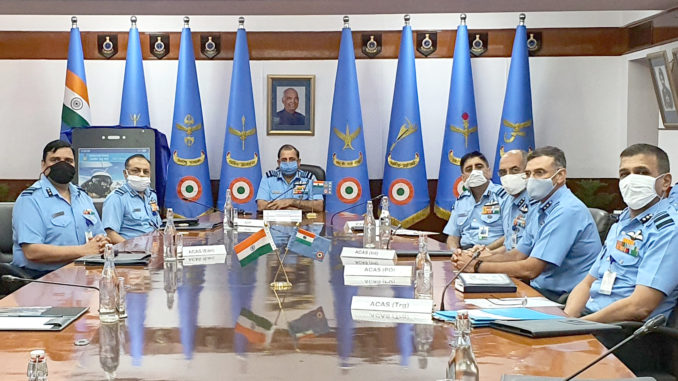 Launch of IAF Mobile Application 'MY IAF'