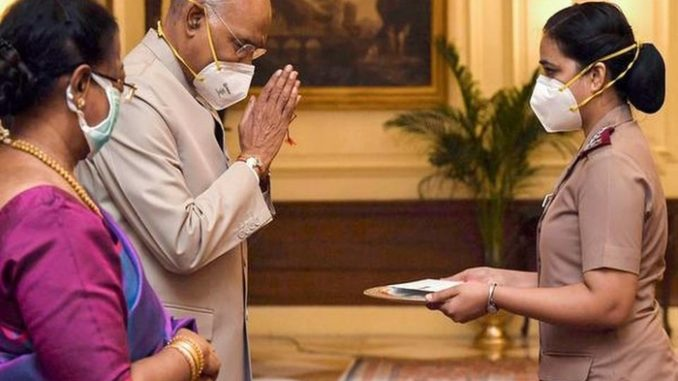 President of India Celebrates Raksha Bandhan with Nursing Professionals