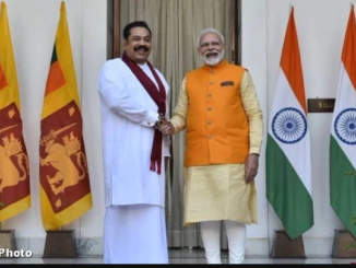 Telephone conversation between PM and Prime Minister of Sri Lanka