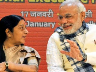 PM remembers Sushma Swaraj on her first death anniversary today