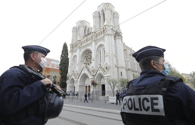 PM strongly condemns terrorist attacks inside a church in Nice, France
