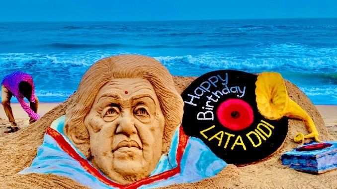 Artists create magic on Lata Mangeshkar's 91st birthday