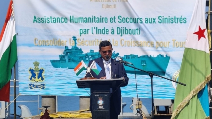 The Indian Navy is progressing this mission in close coordination with the Ministries of Defence and External Affairs, and other agencies of the Government of India