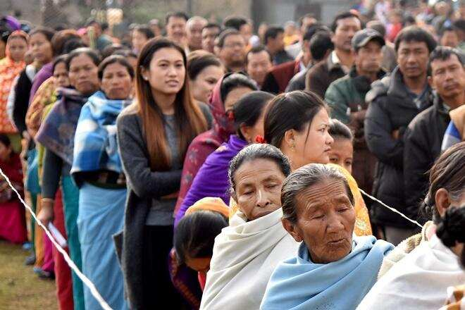 Voting underway on 4 Assembly seats in Manipur