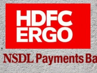 HDFC ERGO has announced the collaboration with NSDL Payment Bank