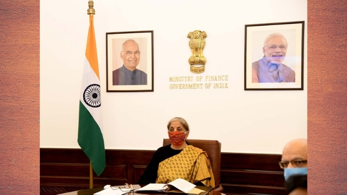 Finance Minister Smt. Nirmala Sitharaman says momentum of reforms continues during the pandemic and will continue; Economy is facing a reset exercise