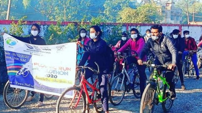 Fit India Cyclothon getting huge response, around 13 Lakh people participated in the first week of its launch-India press release