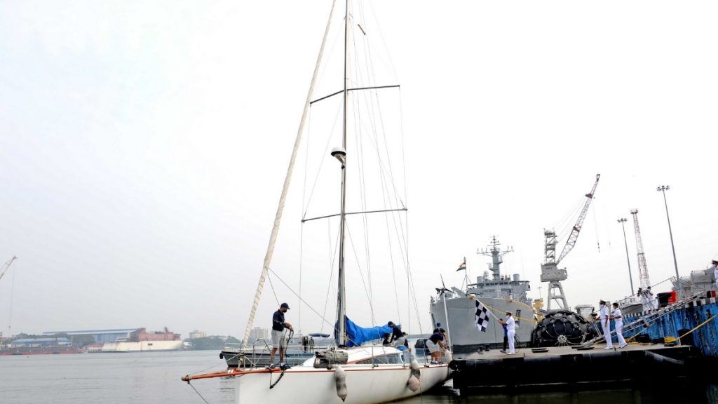 Sailing Expedition from Kochi to Androth Island Onboard INSV Bulbul (23-28 Dec 20) -India press release