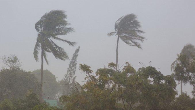 Cyclonic Storm 'Burevi' over Sri Lanka