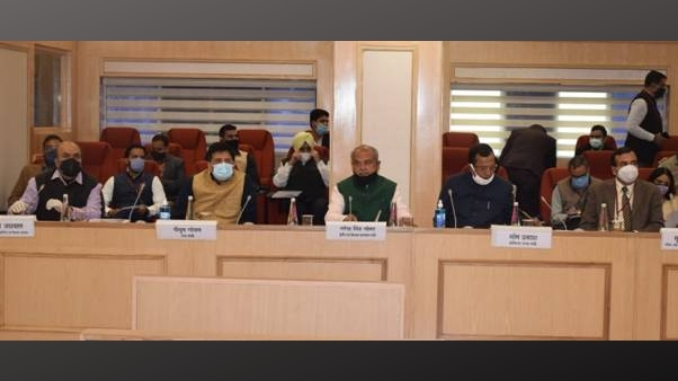 Talks held with representatives of Farmers' Union in a cordial and frank atmosphere at Vigyan Bhawan , New Delhi