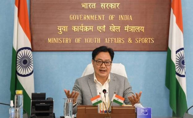 Union Sports Minister Shri Kiren Rijiju meets members of U-17 Women's Football Team, motivates them to look forward even after cancellation of 2020 World Cup