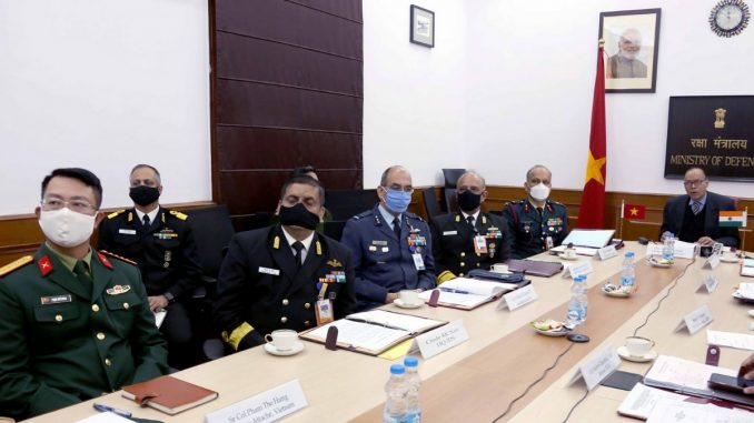 13th India-Vietnam Defence Security Dialogue -India press release