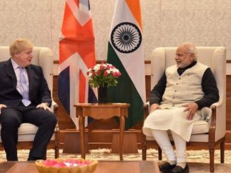 Telephone Conversation between Prime Minister Shri Narendra Modi and Prime Minister of UK The Rt Hon Boris Johnson - India press release