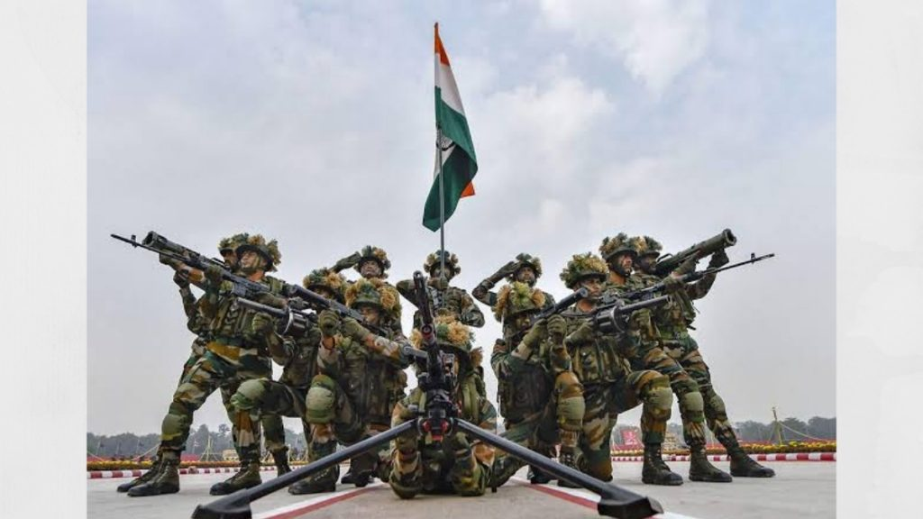 73rd Army Day celebrated- India press release