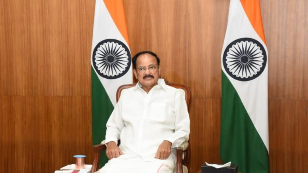 India's Covid vaccine is a leap of science, says Shri Naidu-India press release