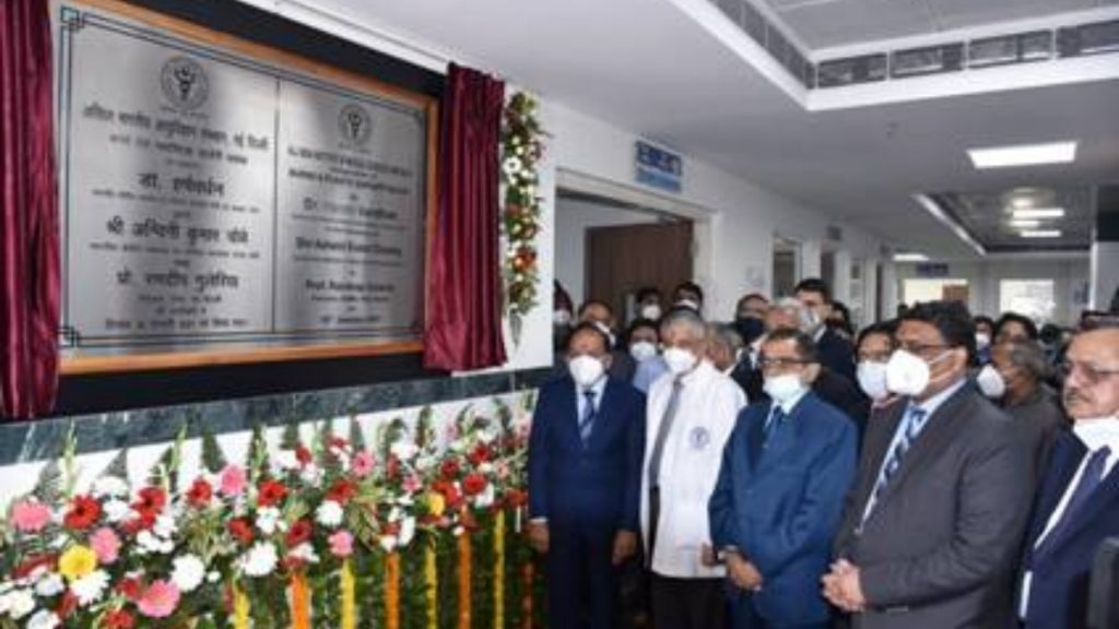 "Dr. Harsh Vardhan dedicates the new Burns and Plastic Surgery Block of AIIMS Delhi to Sushruta,""The Father of Plastic Surgery"" -India press release"