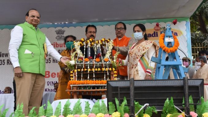 KVIC Distributes Charkha, Looms, Garment Machines to 2250 Artisans in West Bengal to Boost Local Employment - India press release