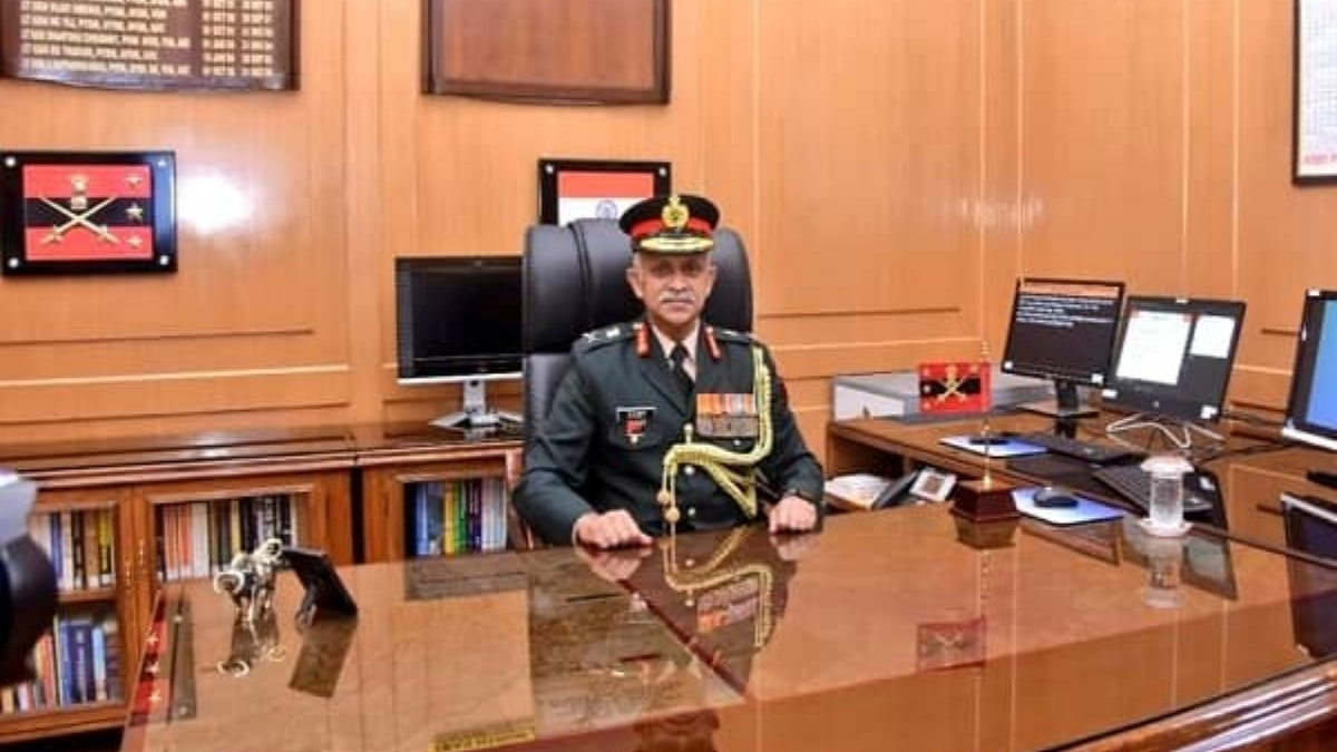 LT GEN CP Mohanty takes over as Vice Chief of the Army Staff - India press release