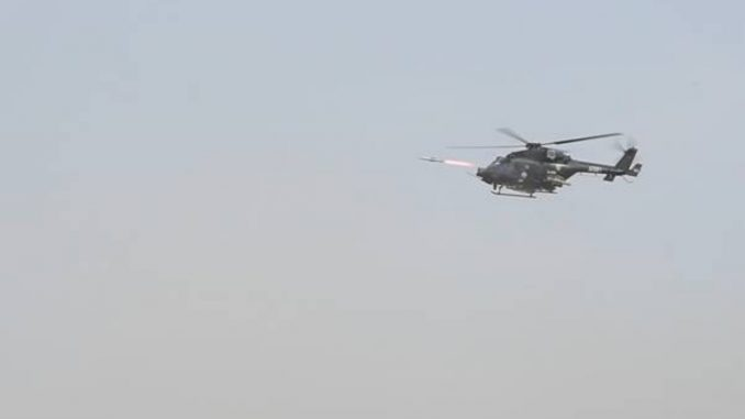 Successful user trials of DRDO-developed Anti-Tank Guided Missile Systems 'Helina' and 'Dhruvastra' - India press release