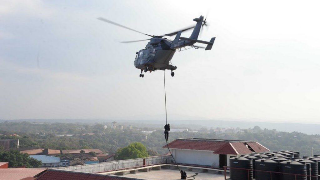 THEATRE LEVEL OPERATIONAL READINESS EXERCISE (TROPEX 21) INDIAN NAVY'S LARGEST WAR GAME - India press release