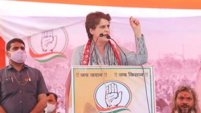 Priyanka Gandhi congratulates NSUI for winning a majority of seats - India Press Release