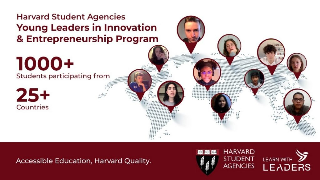 Harvard Mentors and Learn with Leaders ignite entrepreneurship in teenagers across 25+ countries