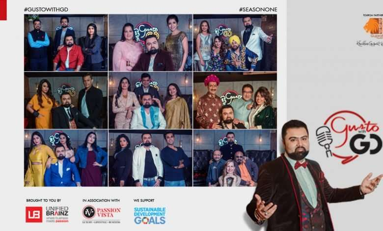 """""""Gusto with GD"""" – An Entertainment Talk Show by GD Singh"""