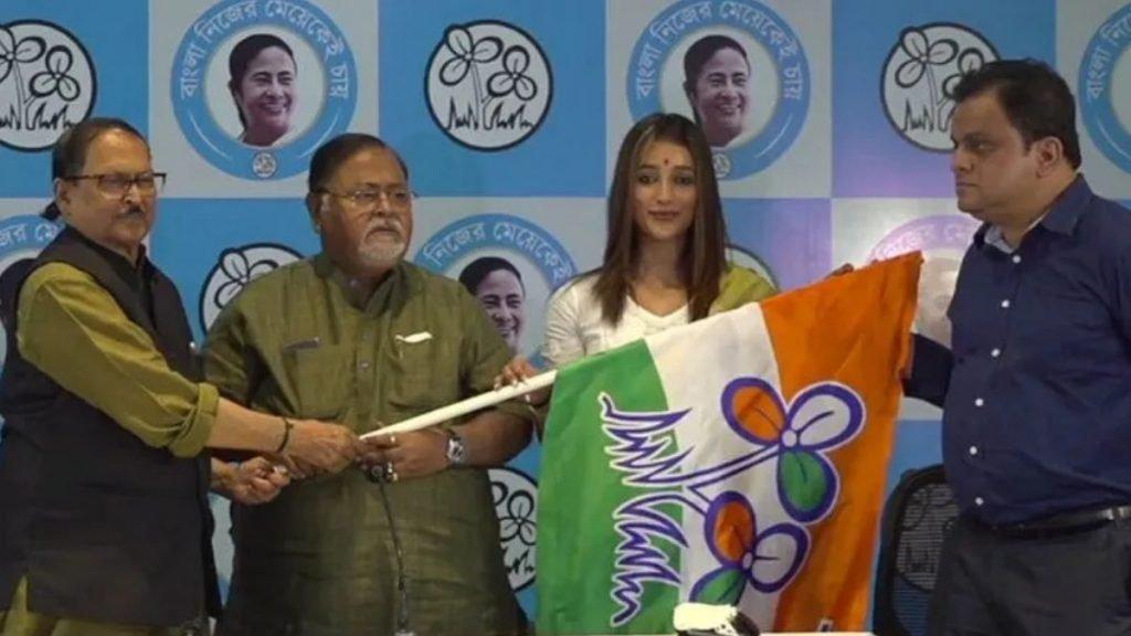 Bengali actor Sayantika Banerjee joins Trinamool Congress (TMC)