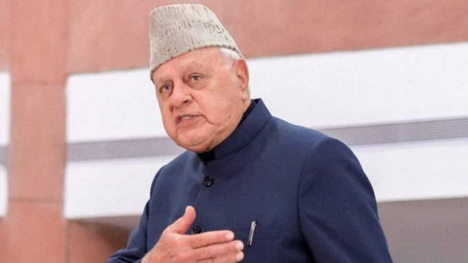 Farooq Abdullah :India is helping every country with the COVID-19 vaccine - India Press Release