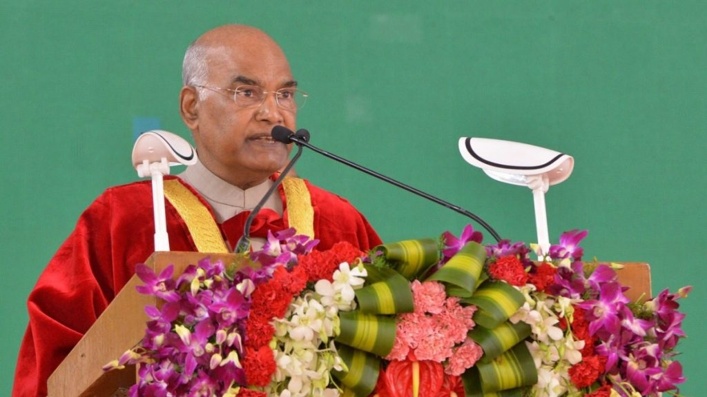 President Kovind: Youth most potent agent of social transformation- India Press Release