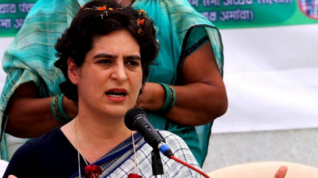 Priyanka Gandhi hits out at UP govt over crime in the state -India Press Release