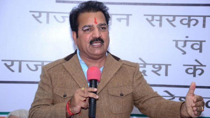 Rajasthan minister Pratap Khachariyawas slams Centre over rising fuel prices- India Press Release