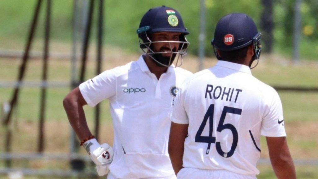 Rohit, Pujara hold fort after Axar, Ashwin show- Ind vs Eng, 4th Test - India Press Release