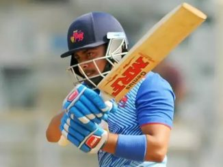 Prithvi Shaw scores 4th century becomes leading run-scorer -India Press Release