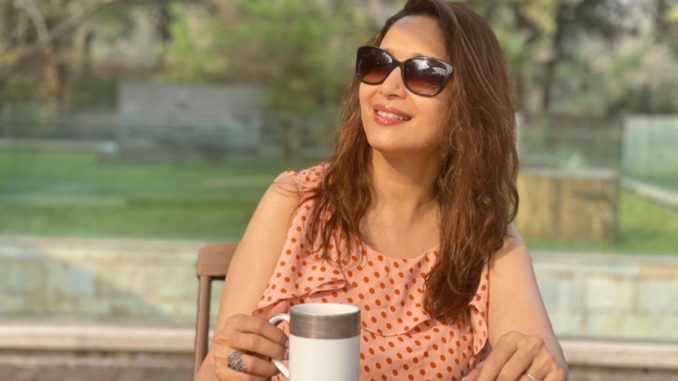 Madhuri Dixit introduces herself as 'Anamika'