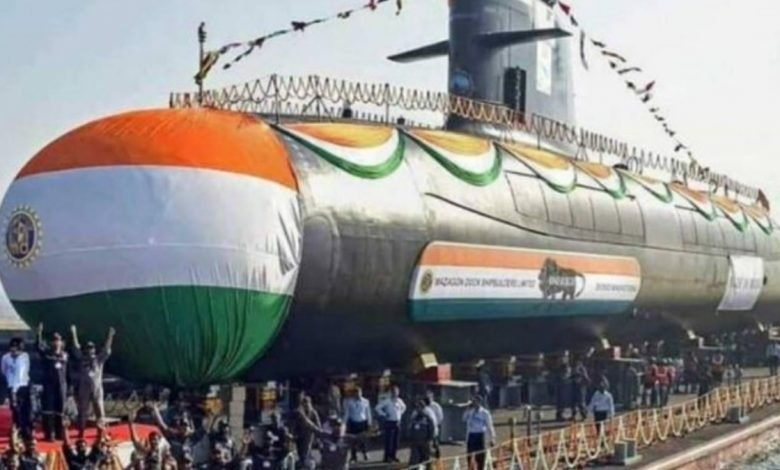 Scorpene-class submarine INS Karanj commissioned into Indian Navy