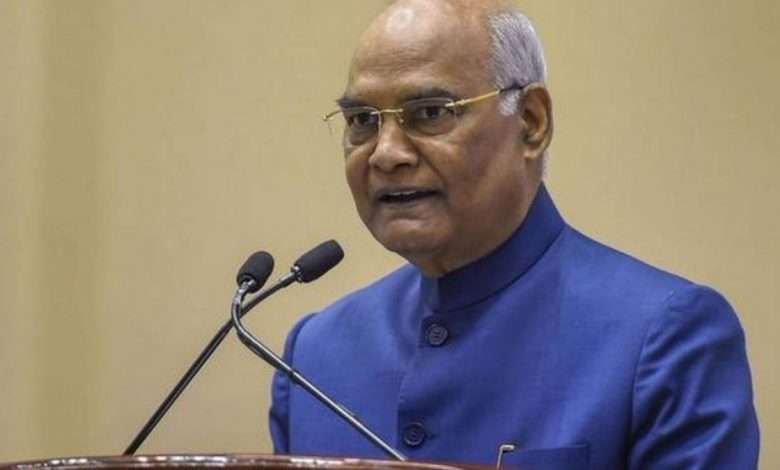 President Kovind greets people on the occasion of Bihar Day